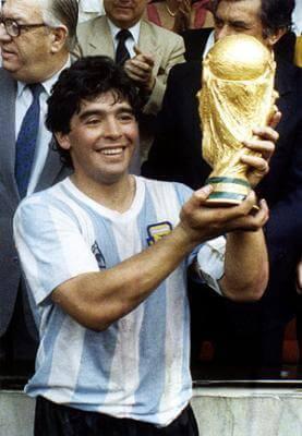 Maradona - Legendy futbolu, najlepsi piłkarze