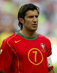 Luis Figo - legendy futbolu