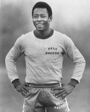 Pele - Legendy futbolu najlepsi piłkarze