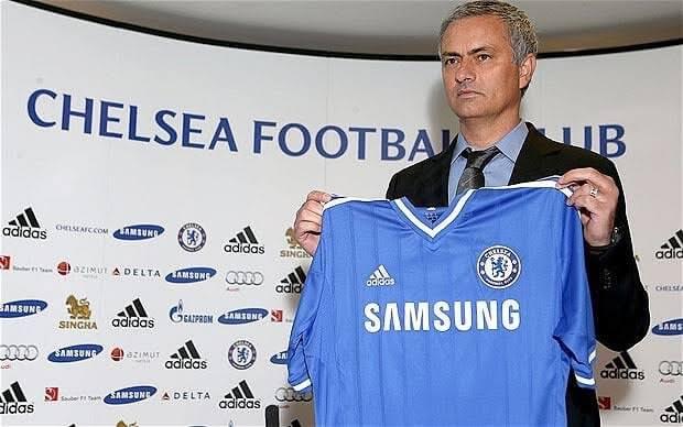 Jose Mourinho trenerem Chelsea