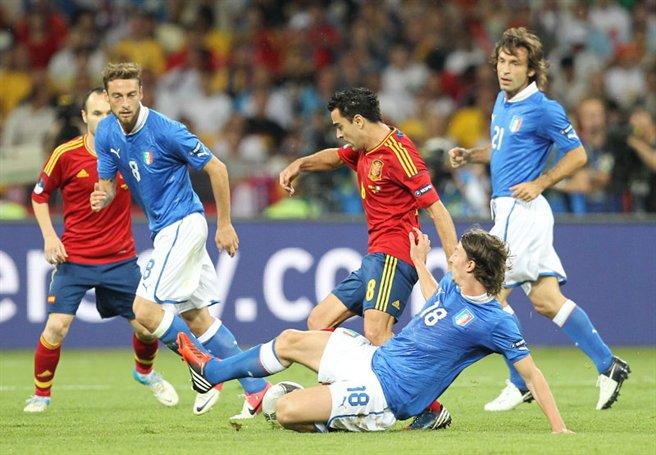 Xavi Hernandez finał Euro 2012